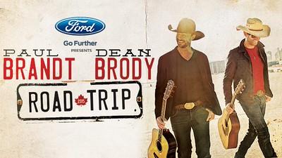 Paul Brandt & Dean Brody - Road Trip 2015